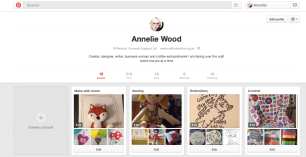 Annelie Wood Pinterest