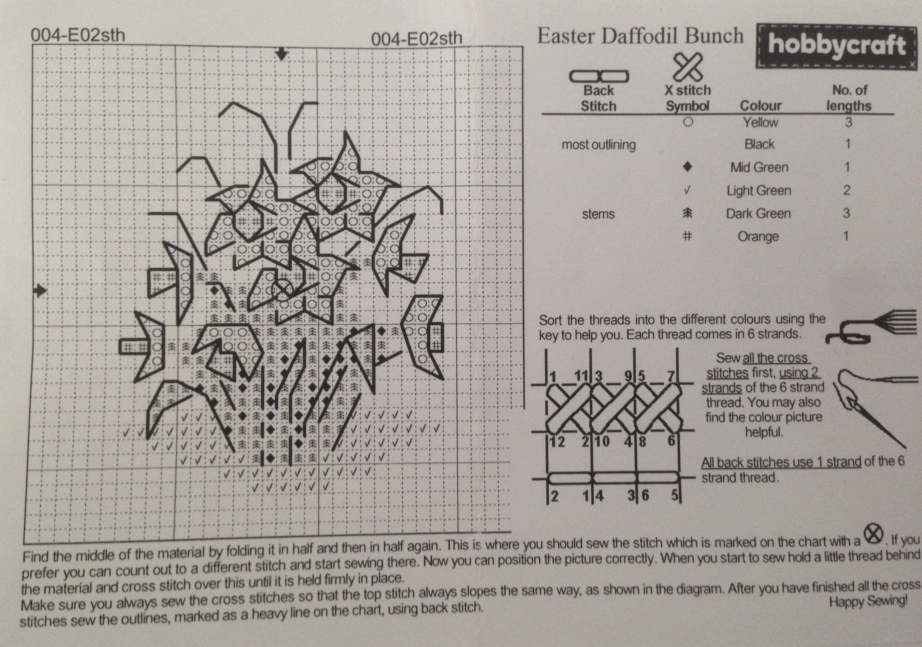 Daffofil Pattern