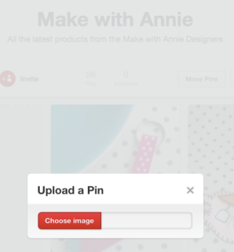 Upload a pin