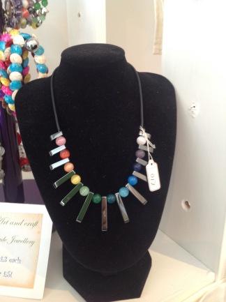 Hematite rainbow necklace £10