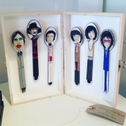 Hand painted spoons £20 each