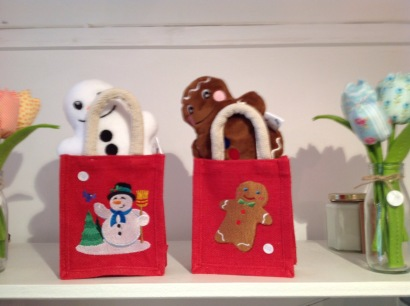 Christmas teddies in bags £12 each