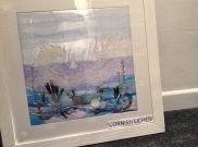 Original artwork, with real seaweed £250