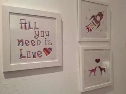 Framed art work from £38