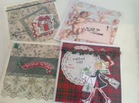Handmade Christmas cards from £3.99