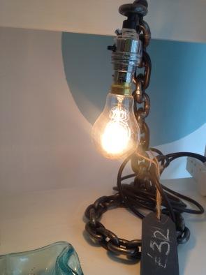 Chain lamp £32