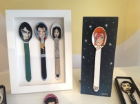 Limited Edition David Bowie Hand painted spoon £30