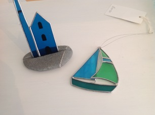 Engine Houses £14, Hanging boats £10.50