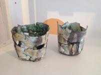 Ceramic lanterns £15 each