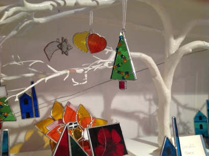 Stained glass Christmas decorations £4.50 each
