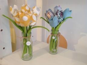 Fabric Flowers £17