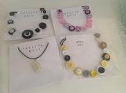 Button Necklaces £8