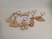 Lazer cut keys rings £2.50 each