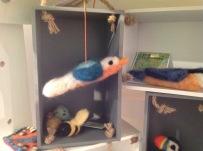 Needle felted birds £19