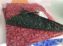 Fabric Christmas placemats £12