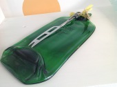 Glass Cheeseboard with Cheese knife £20