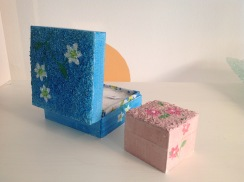 Handpainted wooden boxed from £5