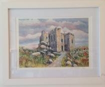 Carn Brea Castle framed print from £20