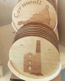Wooden coasters £5