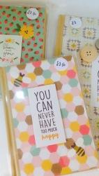 Notebooks £3.50