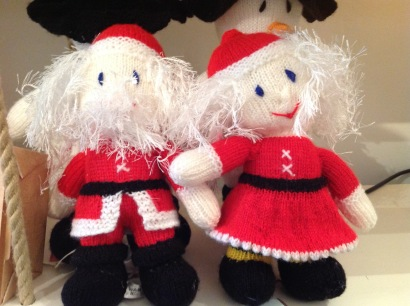 Father and Mrs Christmas £15 each