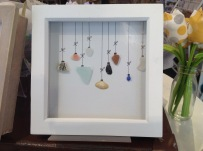 Framed Christmas Baubles £14