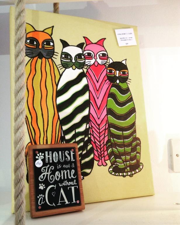 Original 'Cats' by Vivienne £29