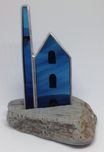 Stained glass engine house £16