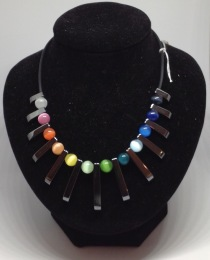 Hematite Rainbow Necklace £10