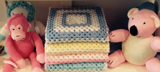 Crochet blankets £10