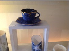 Ceramic cup and saucer £28