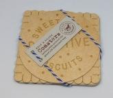 Biscuit Coasters £4