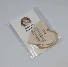 Gift tag £2