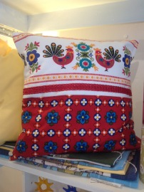 Vintage scandi Cushion cover £25