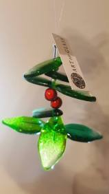 Glass Holly £12