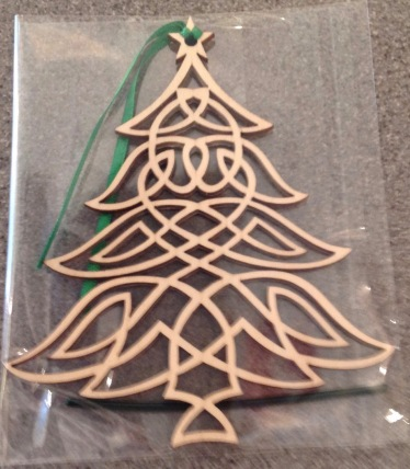 Wooden Christmas Decoration £3.50