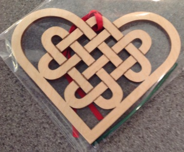 Wooden Christmas Decorations £3.50